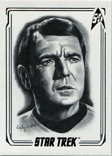 Star Trek 50th Anniversary Artifex Emily Tester Chase Card a04 Scotty