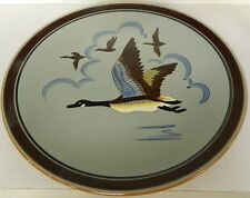 ** VINTAGE STANGL POTTERY PLATE CHARGER CANADA GOOSE 3774  **