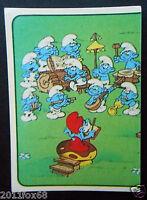 figurines cromos los pitufos cards figurine i puffi 28 panini 1982 the smurfs tv