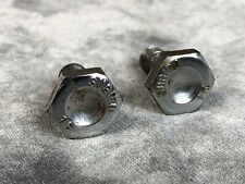 Sugino Crank Bolts 15mm Chrome Road Track BMX Made In Japan