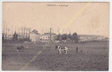 CPA 95590 PRESLES Labourage charrue vaches chevaux Paysan Edit FRéMONT ca1916