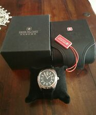 SWISS MILITARY HANOWA BATAILLON AUTOMATIC MAN WATCH (LIKE NEW)