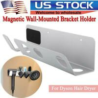 For Dyson Hair Dryer Multi-functional Wall-Mounted Bracket Holder Storage Rack