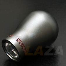 MANUAL GUN METAL COLOR SHIFT KNOB: MANUAL ONLY  (USED BUT SLIGHTLY USED)
