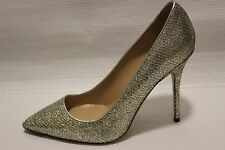J Crew Roxie Mermaid Glitter Pumps Heels 8.5 Shoes $278 Gold Silver #e0784