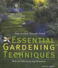 Royal Horticultural Society Essential Gardening Techniques (Rhs),Royal Horticult