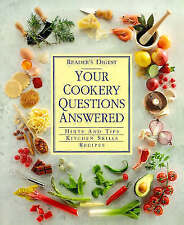 Your Cookery Questions Answered: An Illustrated A-Z Guide to the Hows, Whys...