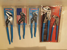 CHANNELLOCK SET OF 5 - TONGUE & GROOVE  ADJUSTABLE PLIARS  TRUE BLUE