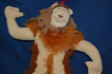 "WIZARD OF OZ plush BROWN Coward Lion DOLL 14"" Stuffed Animal Lovey Toy"