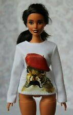 №077 Clothes for Curvy Barbie Doll. Blouse  for Dolls.