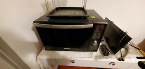 Panasonic NN-DF386 CombinationWith Grill & Oven 1000W Microwave Black Used