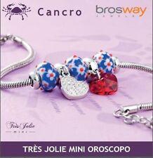 BRACCIALE BROSWAY TRES JOLIE MINI OROSCOPO - CANCRO