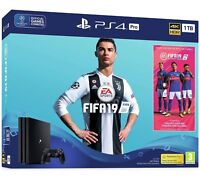 PS4 Pro 1TB FIFA 19 Console Bundle Playstation 4 *BNIB* WORLDWIDE SHIPPING