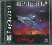 Independence Day Playstation 1 Game PS1 Used
