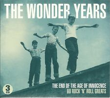 THE WONDER YEARS 3 CD BOX SET - 60 ROCK 'N' ROLL GREATS - YOU'RE SIXTEEN & MORE