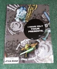 Fathers Day - Star Wars Gift Wrap & Tags.  2 Sheets 50 x 70 cm.  2 Tags.