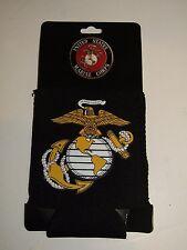 U.S. Marine Corps Marines USMC EGA Black Can Jacket