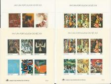 Portugal Mint Lot From 1988-1990 With 9 Blocks - Paintings 20 Century