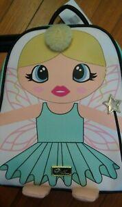 Betsey Johnson Kitsch green Fairy Princess Mini Backpack Purse NWT ballerina $88