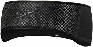 Nike Sports 360 Mens Running Headband - Black/Silver