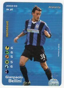 FOOTBALL CHAMPIONS 2002 2003 - GIANPAOLO BELLINI - ATALANTA