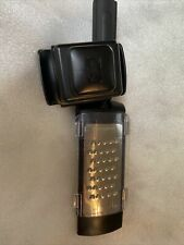 Pampered Chef Microplane Adjustable Coarse Grater w/Storage Cover
