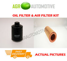 PETROL SERVICE KIT OIL AIR FILTER FOR VOLKSWAGEN LUPO 1.4 105 BHP 2000-03