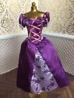 Rapunzel Tangled Purple Dress Disney Classic Princess Doll Barbie
