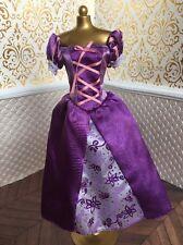 Rapunzel Tangled Purple  Dress Disney Classic Princess Doll Barbie