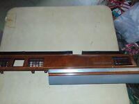 New 1964 Caliente Dash Insert Trim Kit Woodgrain Glove Box Radio Comet Ford