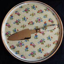 / Plat à tarte ancien Porcelaine de Limoges + pelle à tarte