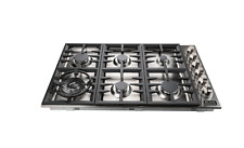 ZLINE Kitchen and Bath ZLINE 36 in. Stainless Steel Drop in Cooktop with 6 Gas B