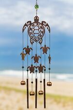 New listing Vp Home Rustic Copper Tribal Turtles Outdoor Garden Decor Wind Chime