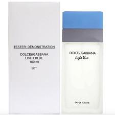 DOLCE GABBANA LIGHT BLUE 3.4 oz D&G WOMEN PERFUME EDT 100ML 3.3 NEW IN BOX W CAP