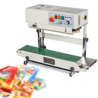 Vertical Automatic Continuous Band Sealer Sealing Machine Stainless Steel Device