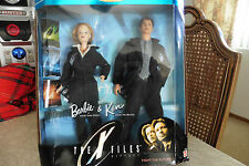 The X Files  Barbie and Ken 1998 SCULLY AND MULDER