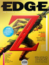 EDGE Magazine,The Legend Of Zelda: Skyward Sword,Peter Serafinowicz,Super Mario