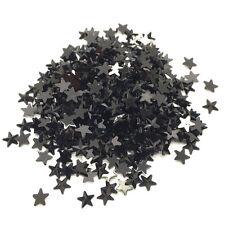 15mm 50pcs Black STARS Resin Rhinestone Gems Flat Back Crystal Beads
