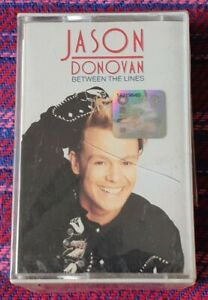 Jason Donovan ~ Between The Lines ( Malaysia Press ) Cassette