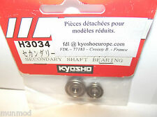 New Kyosho H3034 Secondary Shaft Bearings 2pcs Nexus Con 30