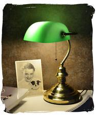 table desk BANKERS LAMP JUGENDSTIL brass reading study office lamp home VINTAGE