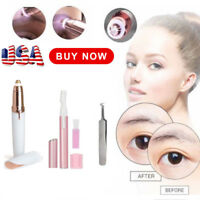 Women Electric Painless Brows Remover Razor Eyebrow Trimmer Facial Removal Pen
