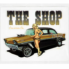 Zombie Hot Rod Wear Pin Up Chevy Gasser Hot Rod The Shop Aufkleber Sticker Decal