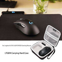 LTGEM Hard Carrying Case For Logitech G703 LIGHTSPEED Gaming Mouse -Travel Bag