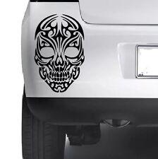 Pattern Skull VINYL STICKER Car Bumper Van Window Wall Laptop Xbox JDM DECALS