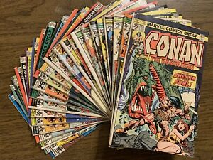 24 Lot Conan the Barbarian 50-84 Bronze Age Comic  Marvel Run 1st Belit & Origin