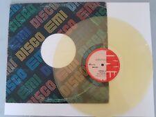 "Paul McCartney COMING UP  RARE COLOMBIA 12"" YELLOW vinyl Beatles"