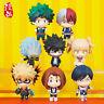 8pcs/set Anime My Hero Academia Q Version Mini PVC Figure Statue New Toy Gifts