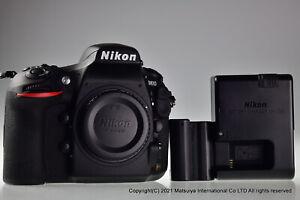 ** Near MINT ** NIKON D810 36.3MP Digital Camera Body