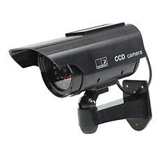 Solarenergie Kamera Dummy Überwachungskamera Attrappe schwarz AT